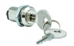 19mm switch lock, 2 position 2, 3, 4 terminals