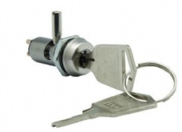 12mm Dual functioned keylock switch, 20 combinations available