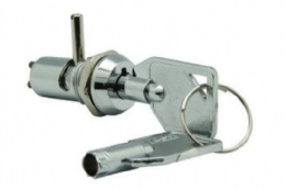12mm Dual functioned keylock switch, 2 position 2 terminals