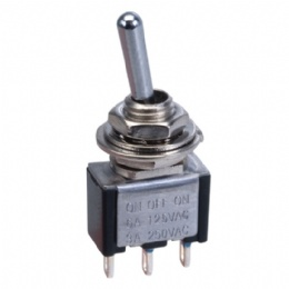 TA105A1 Mini Toggle Switch SPDT On/off(on)