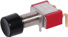 SPDT Mom. 90 Deg. Low Profile PCB Pushbutton Switch