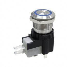 19mm Anti-vandal Pushbutton Switches
