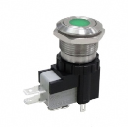 26A/125VAC Anti-vandal Pushbutton Switches