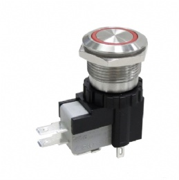 16A, 26A 250/125VAC Anti-vandal Pushbutton Switches